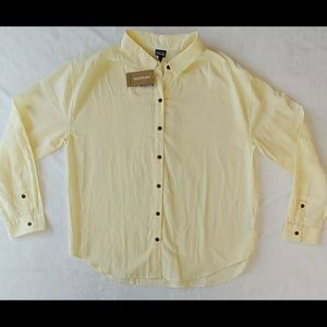 Patagonia Lightweight Yellow A/C Boyfriend Shirt